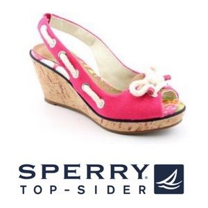 Sperry Top-Sider Southport Wedge Sandal- NWOT